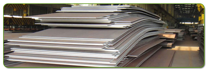 Boiler Steel Plate Stock At Our Factory