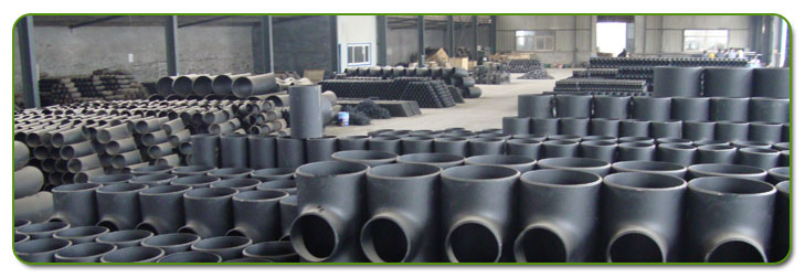 Carbon Steel Pipe Fittings Stock At Our Factory