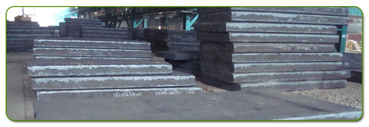 Carbon Steel Plate Stock At Our Factory