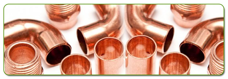 Copper Nickel Pipe Fittings Stock At Our Factory