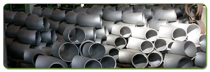 Stainless Steel 321 Pipe Fittings Stock At Our Factory