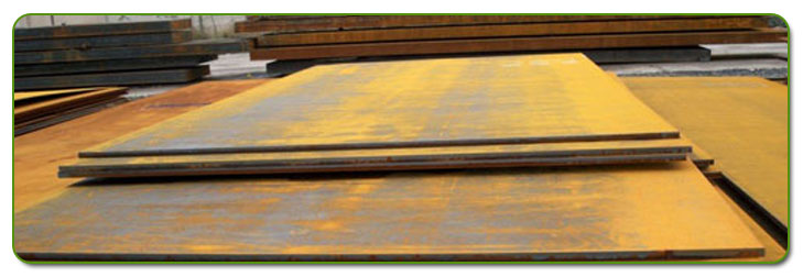 Corten Steel Plate Stock At Our Factory