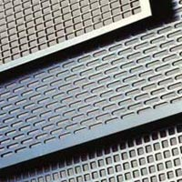 """PERFORATED STAINLESS STEEL 6/"""" x 6/""""  3//32 INCH HOLE 20 GAUGE FREE SHIPPING"""